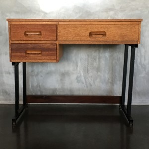Retro Vintage Midcentury Industrial Style Desk 1